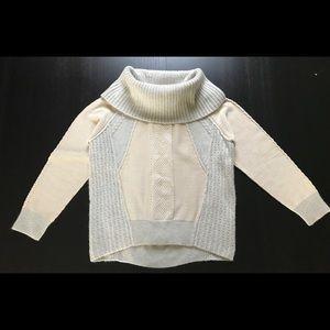 Women's knit cowl neck sweater
